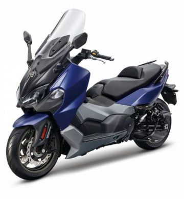 SYM MAXSYM 500 TL Bleu Mat
